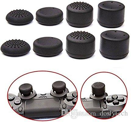 PS4 Controller Grips 4 sets Silicone Cap Thumbstick, Analog Stick Joystick Covers Skins for PS4 / Slim / Pro Controller/