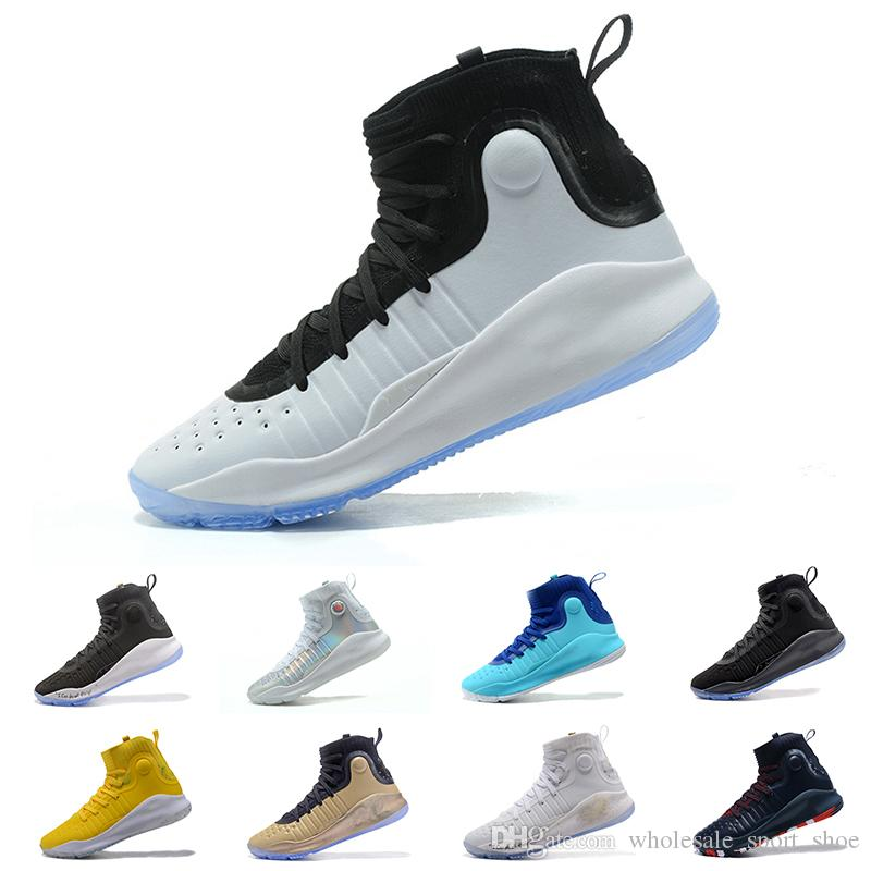 Popular Stephen Curry 4 Men Basketball Shoes Gold Championship MVP Finals  Sports Sneakers Trainers Outdoor Designer Shoes US 7-12 Online with   129.2 Pair on ... edb6c9188