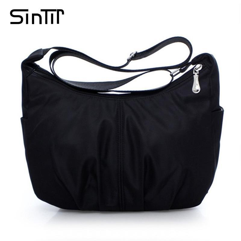 a54a86c51a5e SINTIR Waterproof Nylon Women Messenger Bags Casual Clutch Carteira Vintage  Hobos Ladies Handbag Female Crossbody Shoulder Bags Branded Bags Leather ...
