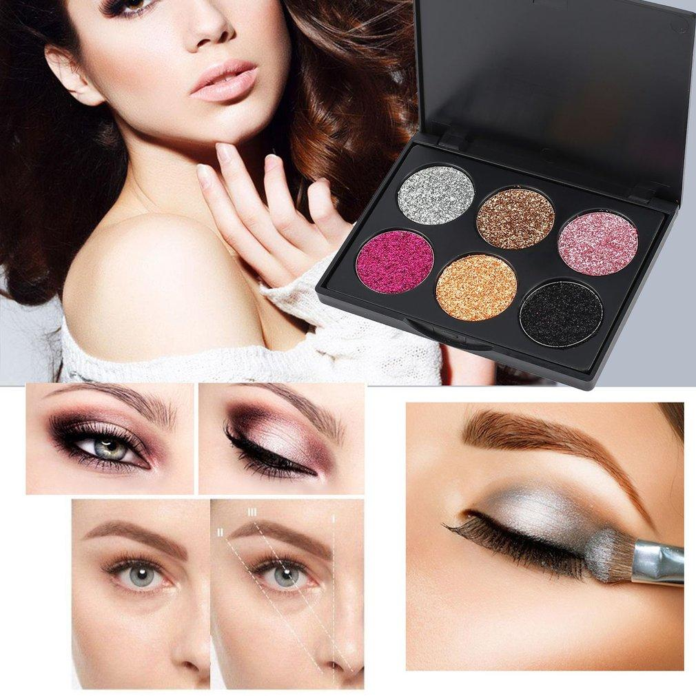 Shimmer Matte Eyeshadow Makeup Palette Long Lasting Easy To Wear Waterproof Nude Eye Shadow Highlighter Powder Cosmetic Smokey Eye Makeup Elf Makeup From ...