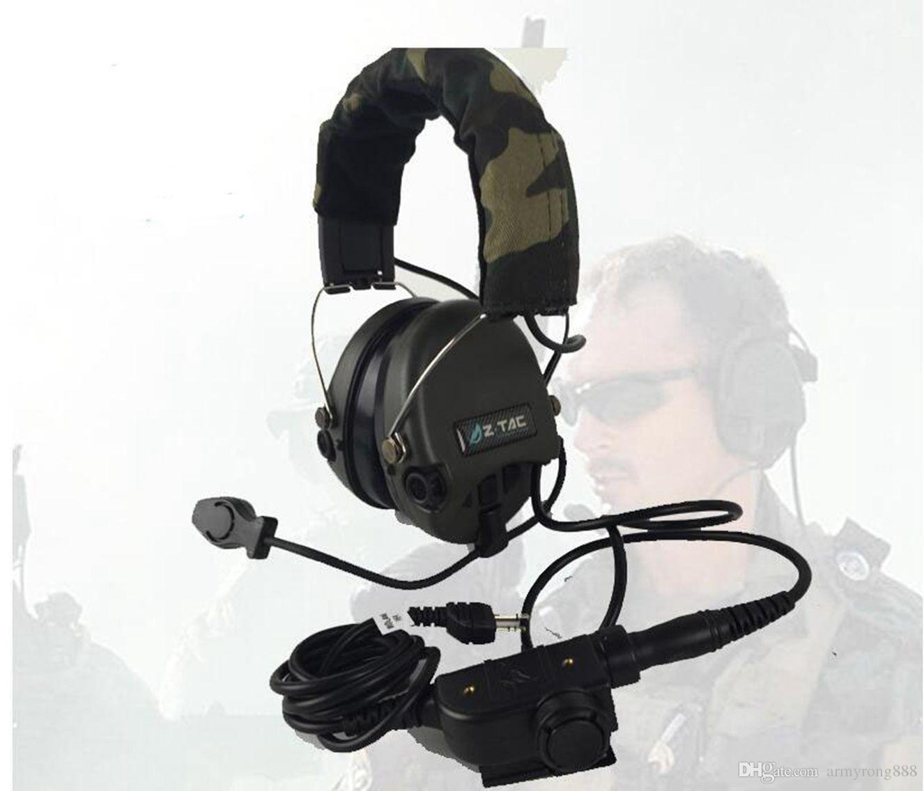 Acheter Z Tac Airsoft élément Z Tactique Casque Softair Peltor