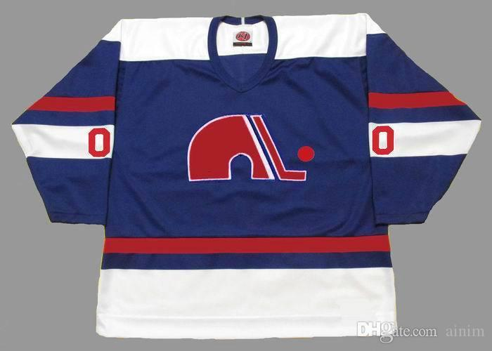 f85df9846 2019 Personalized Custom QUEBEC NORDIQUES 1970 S And 1990 S Hockey Jersey  Customized Any Name   Number From Ainim
