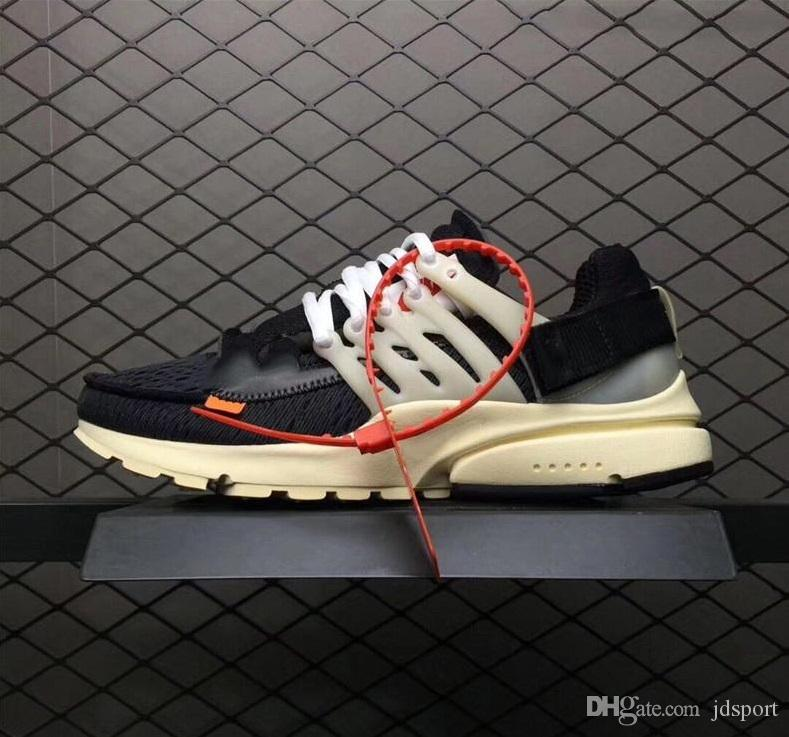 8cd2e8deff With Original Box2018 New High Quality The Ten Prestos Running Shoes For  Women Men Brand Designer Sport Sneakers 36 45 UK 2019 From Jdsport