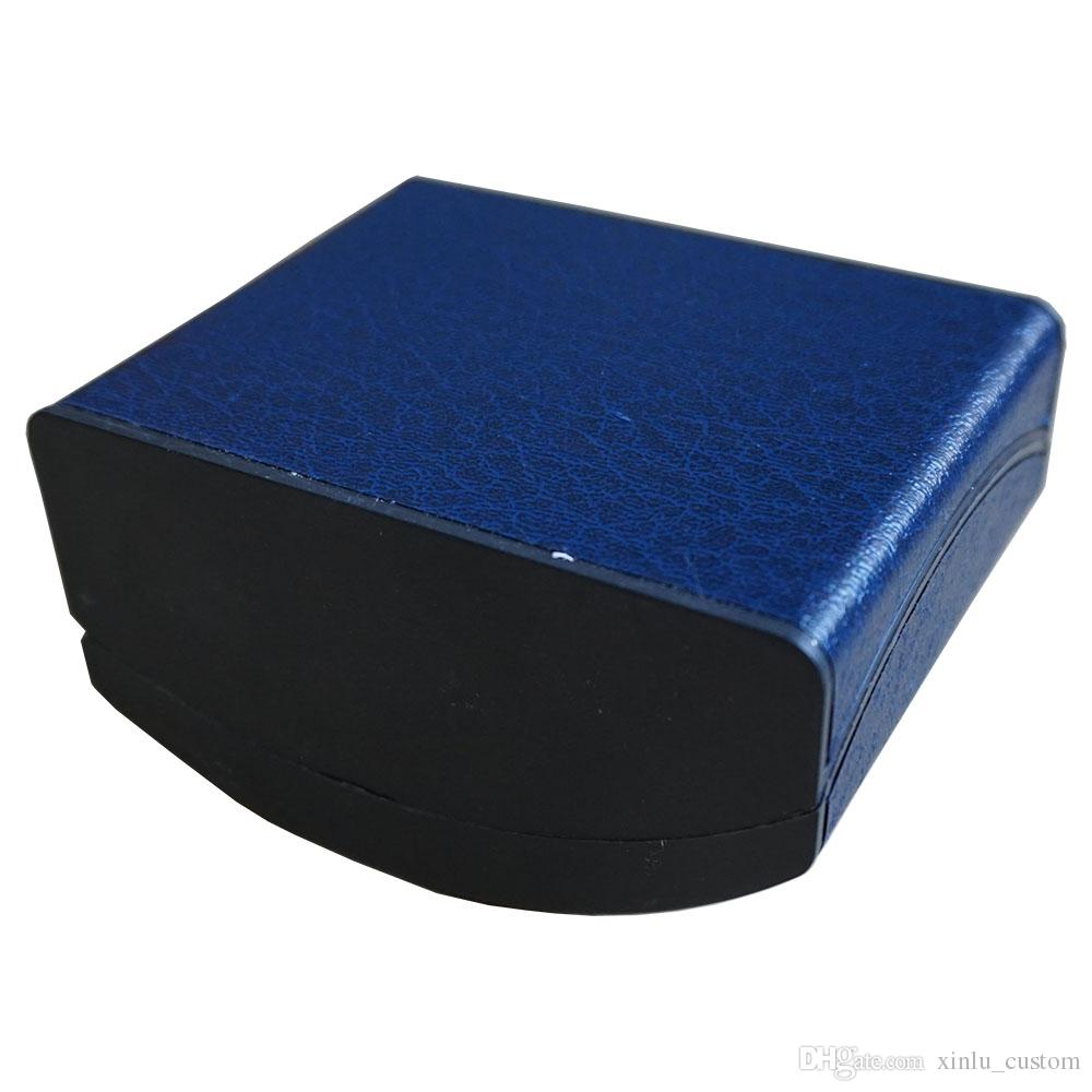 Plastic Paper Blue Watch Box Package Custom Logo Print Box Storage Case Box Special Gift Package Factory Promote Boxes Package
