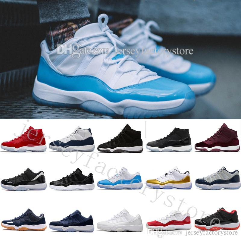 fd98d2b0da3 Cheap New 11 Space Jams Bred Gamma Blue Men Basketball Shoes Concords 72 10  Legend Blue Cool Grey Cheap Sports Sneakers US 5.5 13 Eur 36 47 Buy Shoes  Online ...