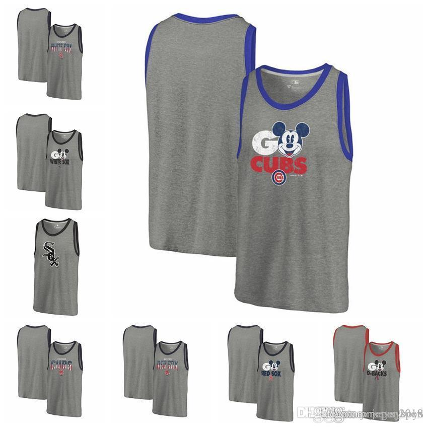 2019 Men S Vest Chicago White Sox Chicago Cubs Boston Red Sox Fanatics  Branded Freedom Tri Blend Tank Top Heathered Gray Sleeveless From  Jerseys boys 83967471899a