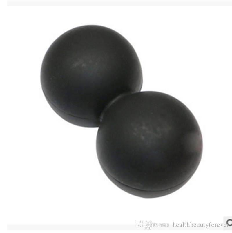 Силиконовый эластичный арахисовый массажер для йоги с шариковыми роликами для спины Триггерная терапия