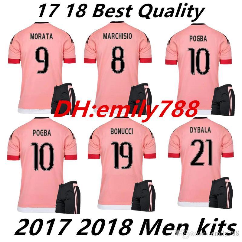 51eb66e90 2019 Juventus DYBALA HIGUAIN RONALDO Home Soccer Jersey Kits 15 16 POGBA  MARCHISIO CUADRRDO D.COSTA BERNARDESCHI Football Shirt Maillots De Foot  From ...
