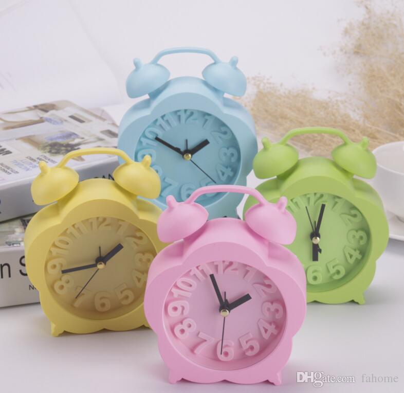 2018 Creative Alarm Clock Cute Children Bedroom Decor Alarm Clock Quartz  Table Waking Up Alarm Clocks Desk Table Clocks From Fahome, $3.72 |  DHgate.Com