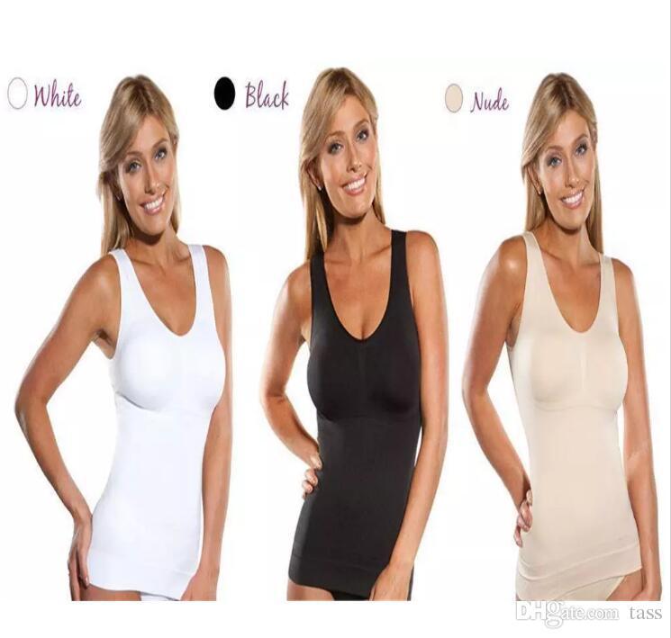 da1eb93f7d8 2019 Hot Selling Full Size Genie Bra Cami Hot Tank Top Women Body ...