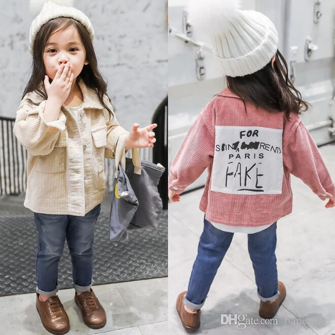 873e2becdc7c Wholesale Girls Coat Spring And Autumn 2018 New Children S Korean Version  Of The Foreign Princess Shirt Children S Small Baby Jacket Tide Kids Coats  Jackets ...