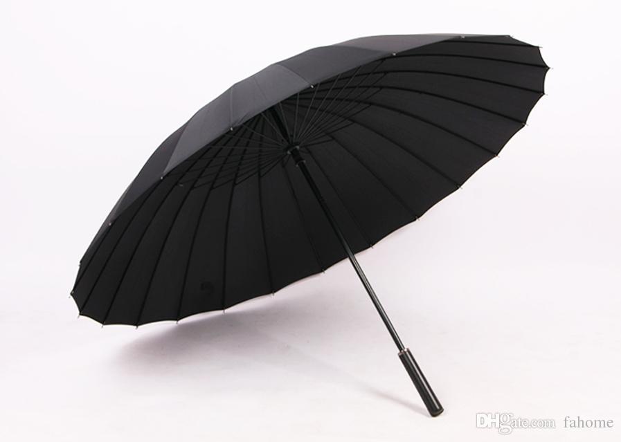 3 Farben Golfschirm Größe Winddicht Sonnenschutz Wasserdicht Stock Regenschirme Sonnenschirm für Männer Frauen