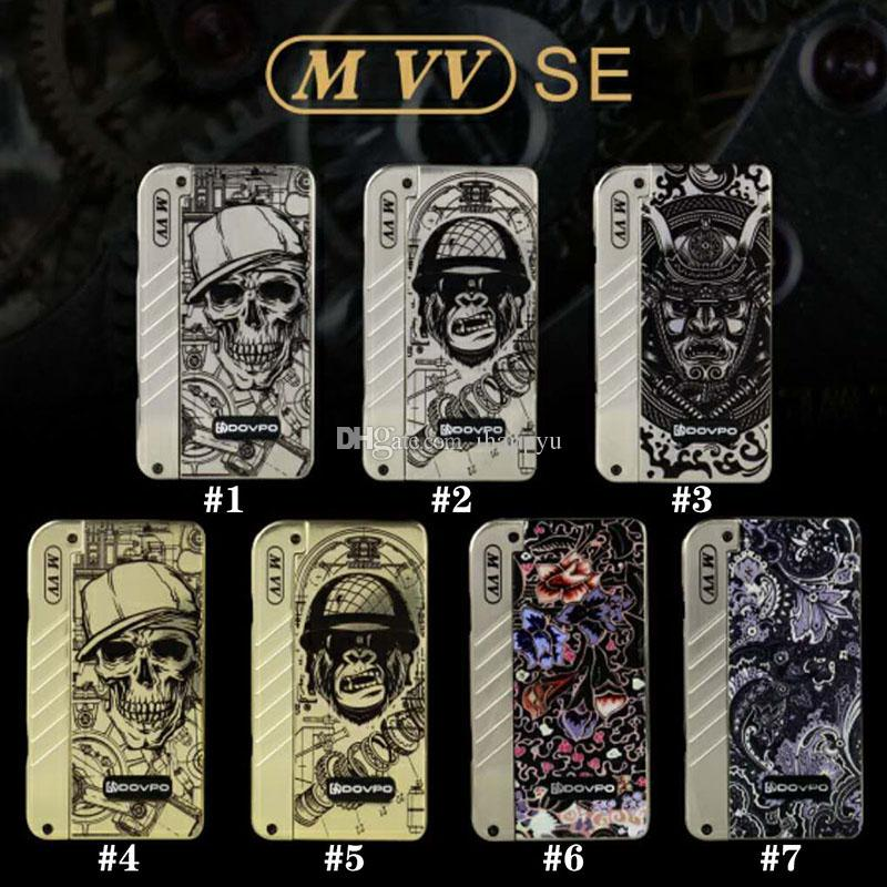 New Authentic Dovpo M VV Box Mod with 4 LED Indicator Lights Fit Two 18650 Battery 510 Thread 0.1ohm Atomizers 100% Genuine 2203024
