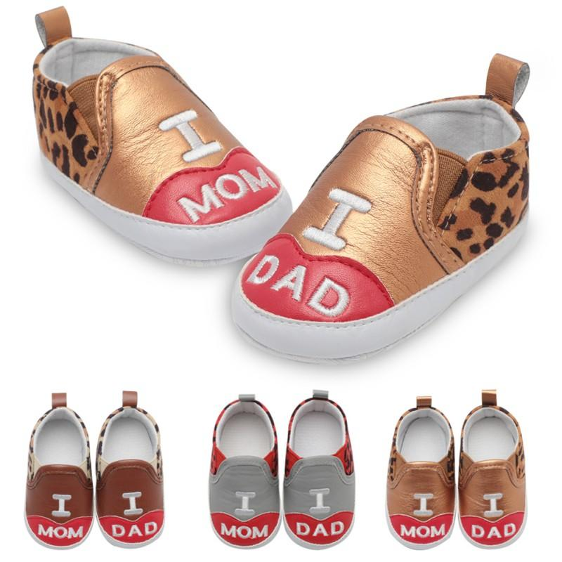 f0395247c1d49 Acheter 2018 Chaussures De Bébé En Europe Et En Amérique Éclater Bébé  Garçon Fille Chaussures Infantile Étape Bottes Élastique Pu En Cuir Souple  Leopard ...
