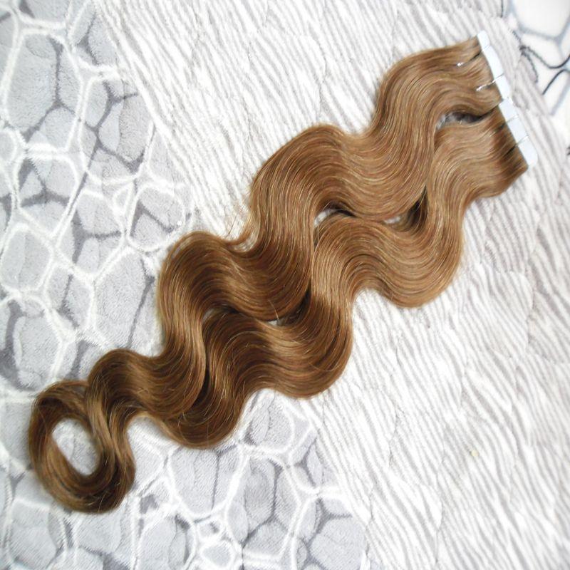 Großhandel Remy Tape Hair 100 Echthaar Extensions 100g Buntes Band