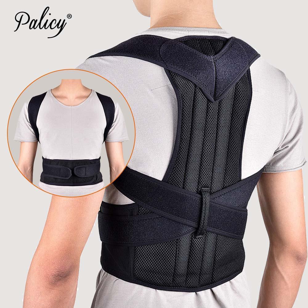 30d0cdb6c234 Corrector de postura Soporte para la espalda Cinturón Ortopédico para  hombres Corsé Columna lumbar Brace Enderezadora de espalda Redondo Chaleco  de ...