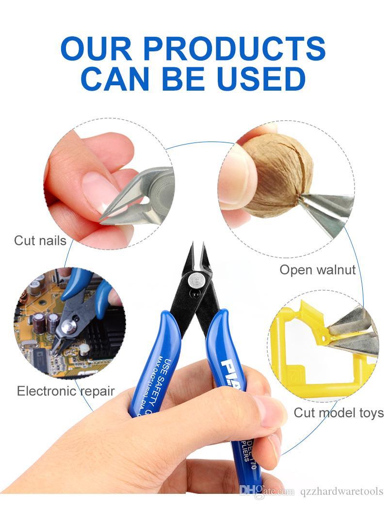 Scheren-Werkzeug Cutter Drahtschneider Nipper Mini-Zangen-Klemmschneid Flush Cutter Für RDA Heizstab Wick REBUILDABLE Atomizers Vape DHL geben
