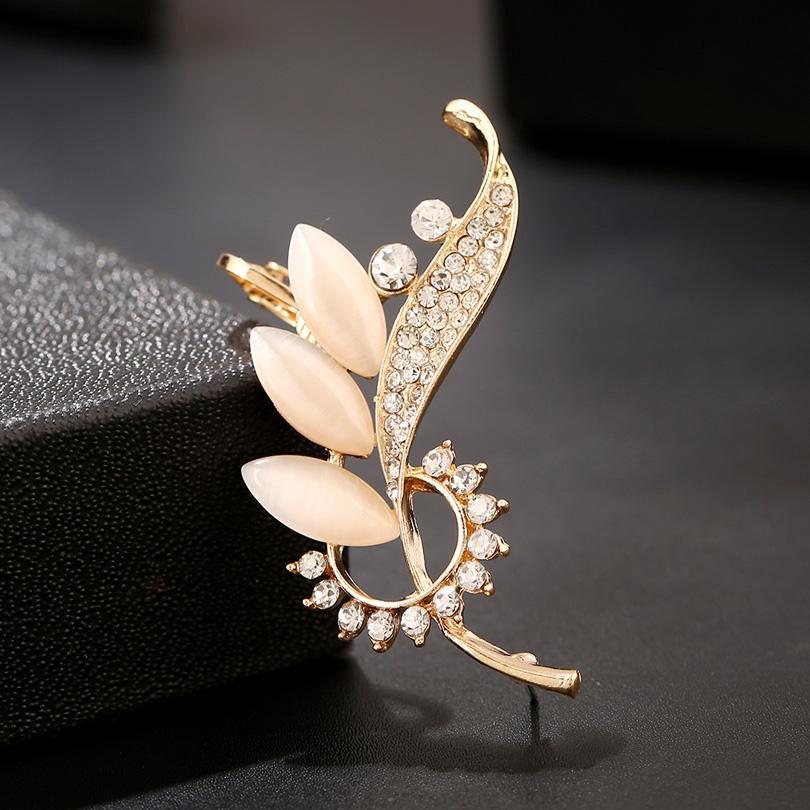 DIDNOT Bellissimo fiore orecchio polsino d'oro argento orecchio-clip anti allergia lega orecchini ragazza gioielli ornamento donne regalo orecchino