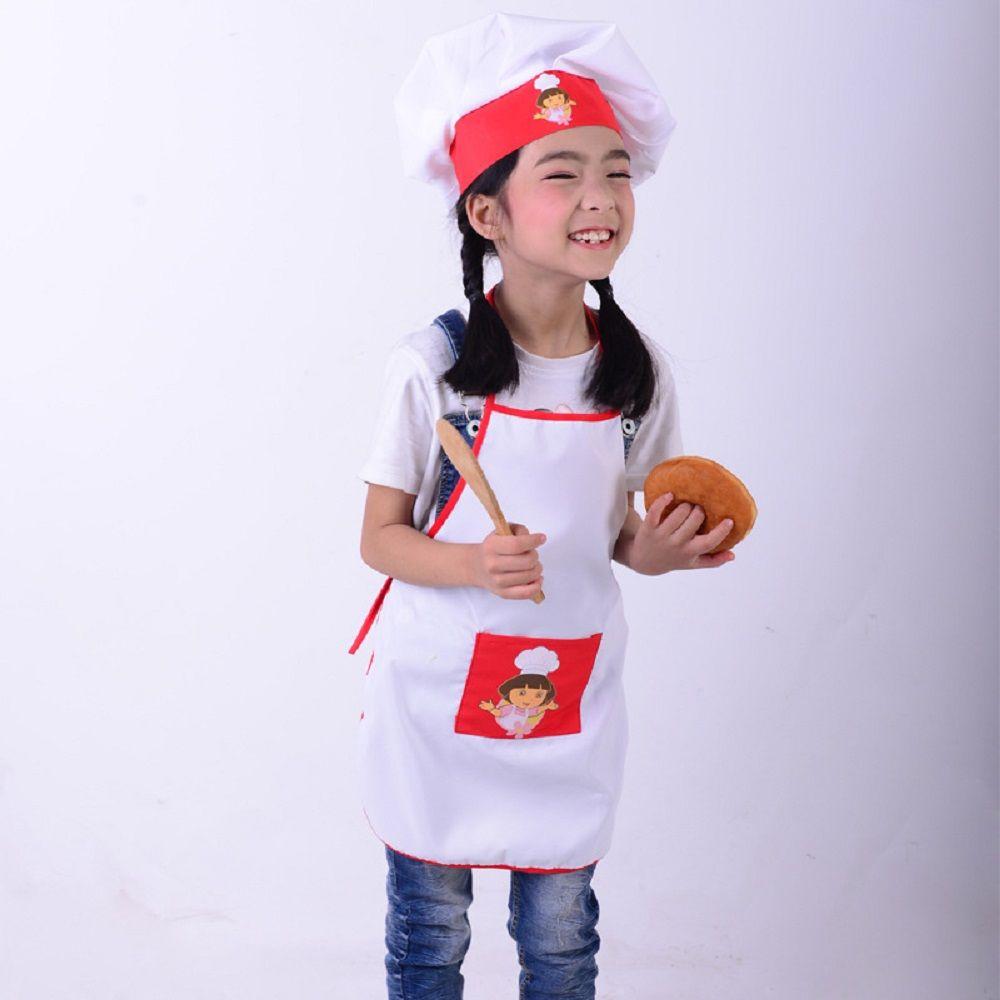 Acquista Grembiule Bambini + Cappello Da Cuoco Set Bambini Costumi Di  Cucina Baby Chef Costume Artigianato Art Cooking Cooking DIY Painting  SYT9351 A  26.06 ... e3bf4f1e15c2