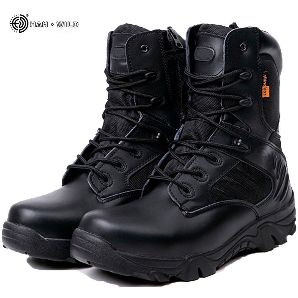 Home Winter Herbst Männer Stiefel Top-qualität Armee Arbeitsschuhe Leder Schneeschuhe Männer Schuhe GroßE Sorten