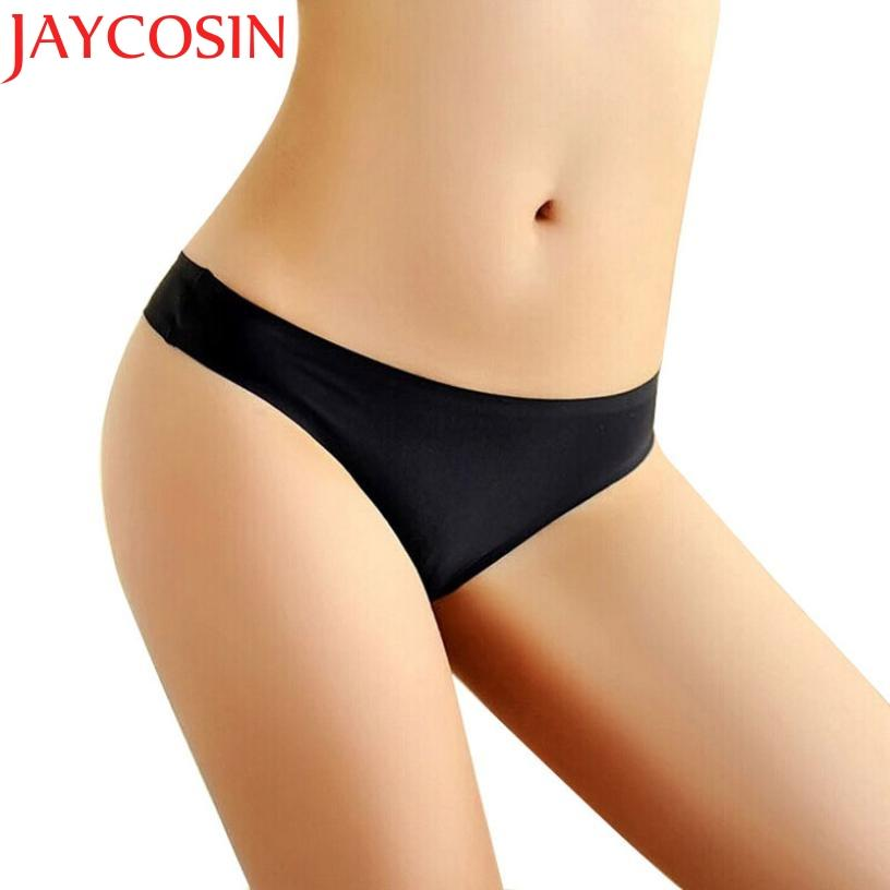 46b0de8421cc JAYCOSIN Women Invisible Sexy Underwear Spandex Briefs Gas Seamless Low  Waist Crotch Panties Clothes Drop Shipping Crotch Panties Spandex Briefs  Low Waist ...