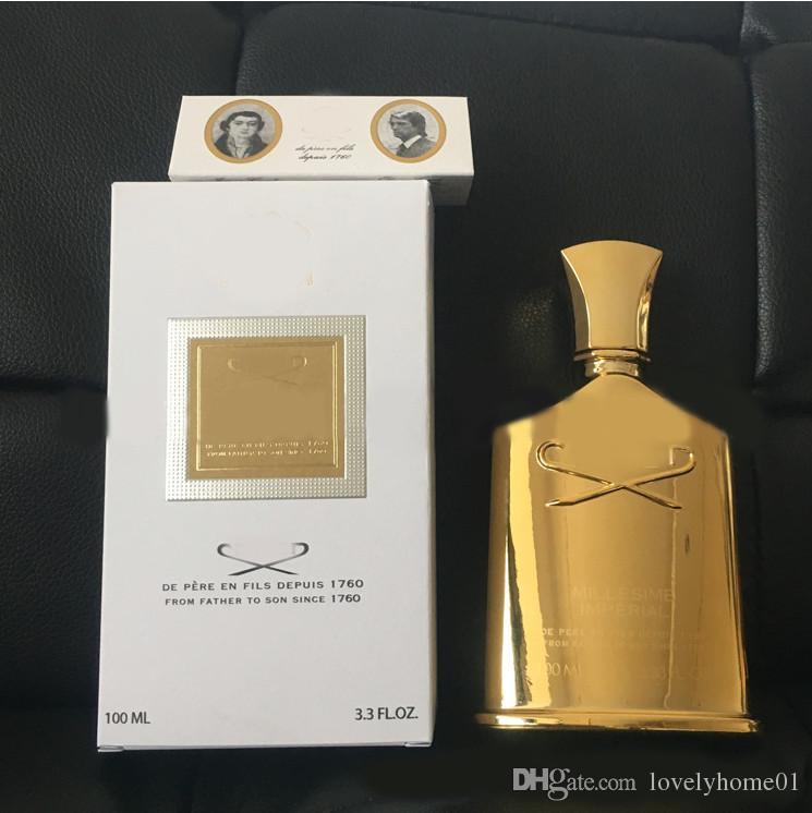 Ml HommeFemmeParfaitOdeur 100 ParfaiteExpédition Edition Rapide Pour Creed Parfum Gold Millesime PiTXZuOk