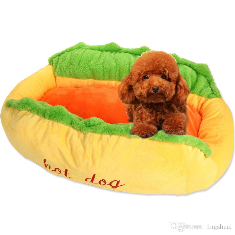 hot dog bed for dogs