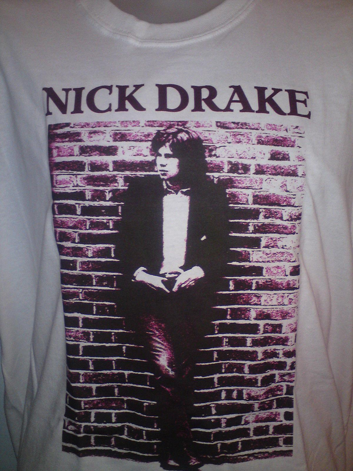 Drake Dvd Rock Shirt Cd Folk Nick Five Pink Moon Leaved Left Cheap CxeorWQdBE
