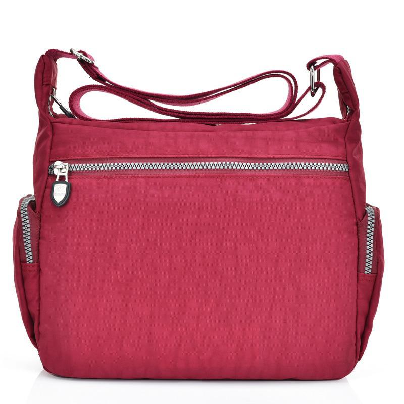 6eb10973fd02 Waterproof Nylon Women Messenger Bags Casual Clutch Vintage Hobos Ladies  Handbag Female Crossbody Bags Shoulder