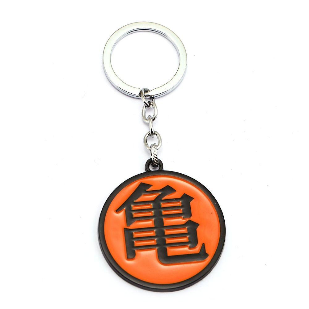 Dragon Ball Z Keychain Master Roshi Kame Sennin Pendant Metal Key