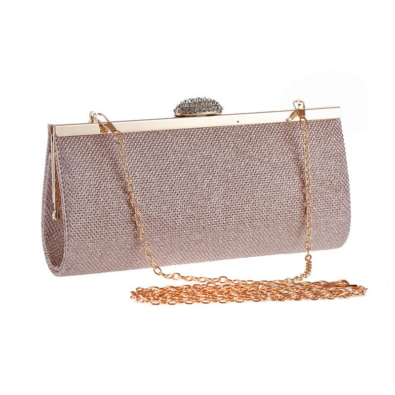 Women Fashion Evening Bag Party Banquet Diamond Glitter Bag For Women Girls  Dress Wedding Clutches Handbag Chain Shoulder Bag Purse Online Bags Handbag  ... b60b8c30084b