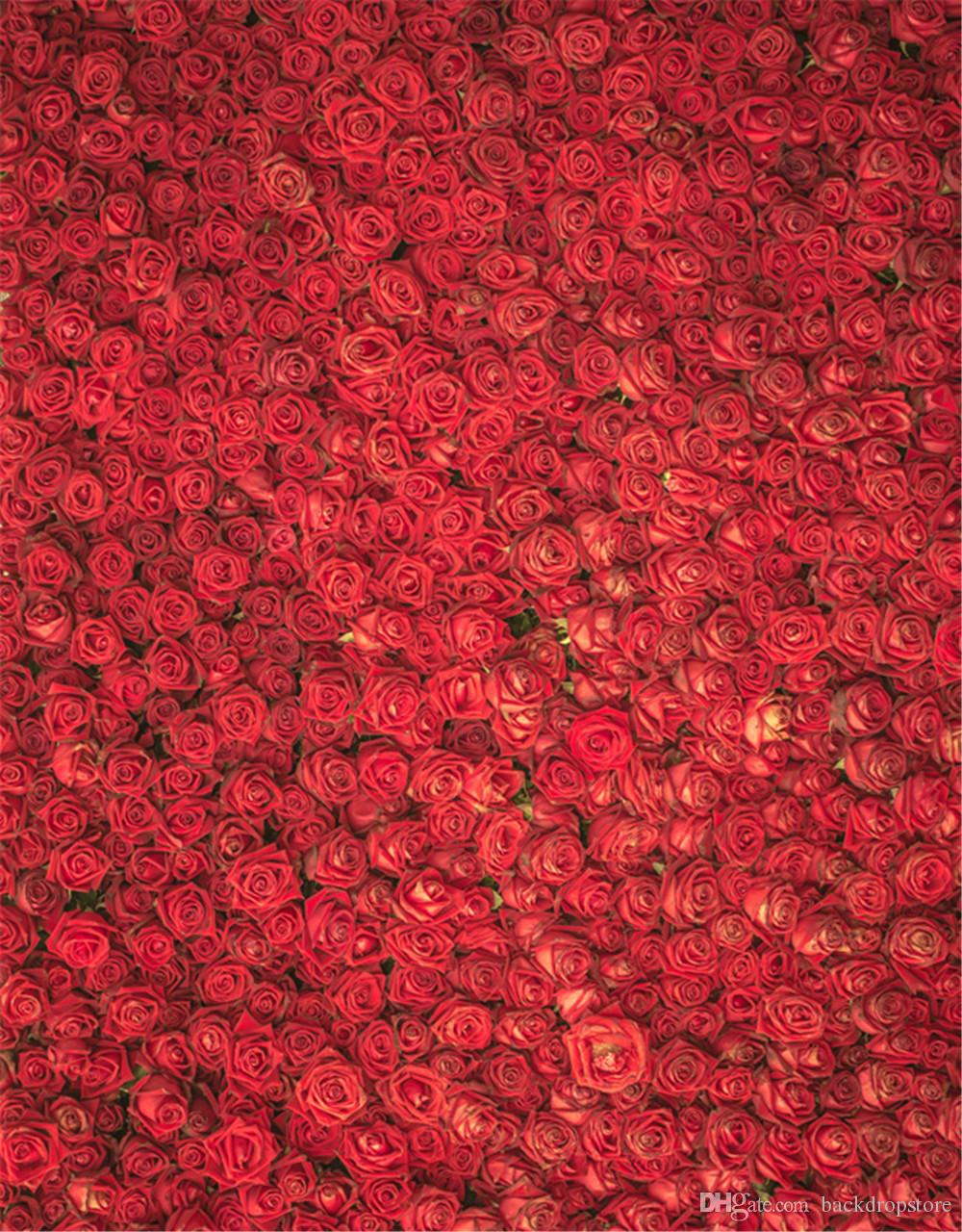 2019 romantic red roses valentines day backdrops for photography