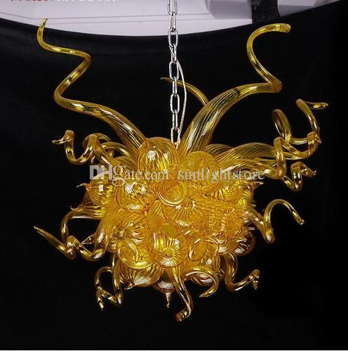 New product amber murano chandelier led light source dale chihuly new product amber murano chandelier led light source dale chihuly style modern living room crystal chandelier blown glass chandelier chihuly style aloadofball Choice Image