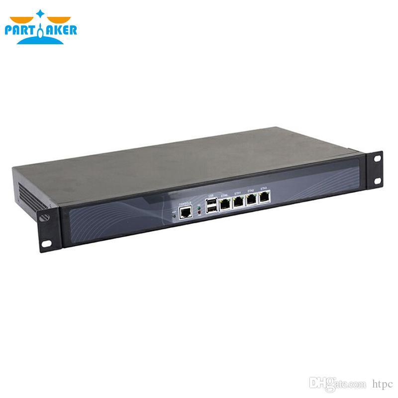 Partaker R12 Network Security Appliance Firewall R2 N2600 VPN Firewall with  4 Gigabit ethernet ports firewall hardware