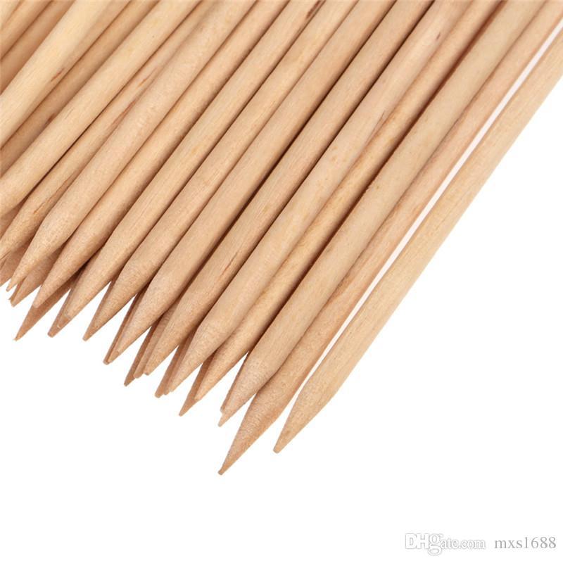 Orange Stick 115cm Wood Sticks Tools For Nail Art Wooden Cuticle