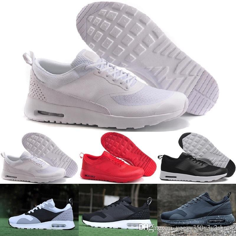 e128e38dc75fd Compre Tava Moda Al Por Mayor THEa PRINT 87 90 SHOES Casuales Para Hombre  AIR SHOOD Zapatillas Casuales Peso Ligero SHOES EE. UU.