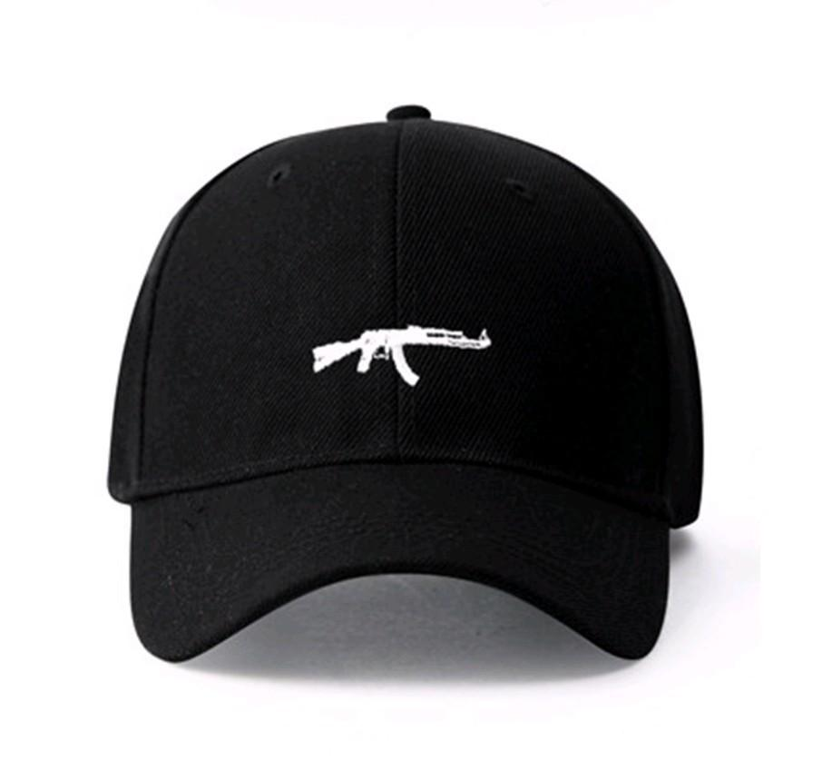 Uzi Gun Baseball Cap US Fashion 2018 Ak47 Snapback Hip Hop Cap Curve Visor  6 Panel Hat Casquette De Marque Submachine Gun Brand Cap Online Starter Cap  From ... 5afed8919d2f