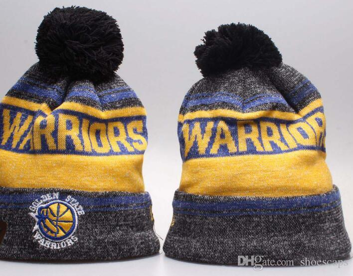 ce7508751da42c Golden State Beanie Winter GSW Hats for Men Women Knitted Beanie ...