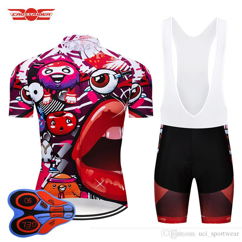 f6b8f8c16 Summer 2018 Funny Cycling Jersey Set MTB Bike Clothing Quick Dry Cycling  Wear Ropa Ciclismo Bicycle Clothes Men Short Maillot Culotte Mountain Bike  Pants ...