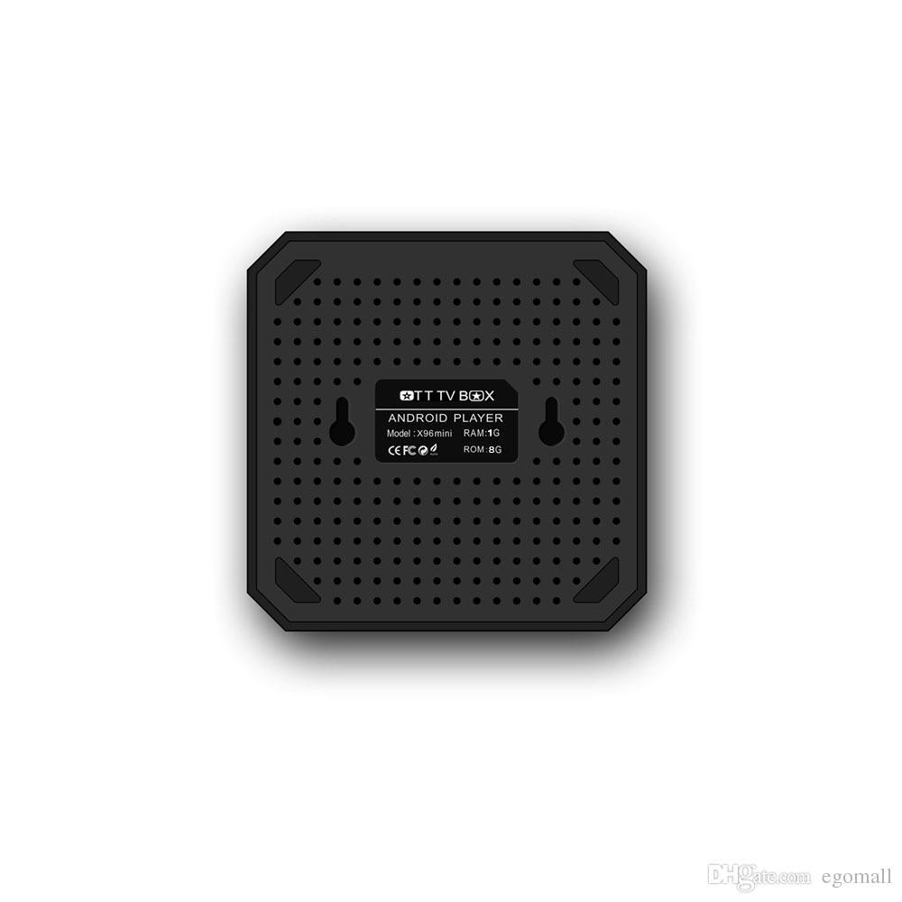 X96mini X96 Mini TV BOX Android 7.1 Quad Core 2 GB di RAM Amlogic S905W WiFi 2.4 GHz IPTV 4K Set-Top Box Smart Media Player