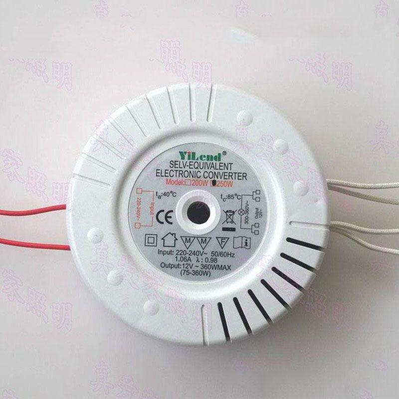 Acheter 250w 220v A 12v Transformateur Electronique Mr16 Mr11