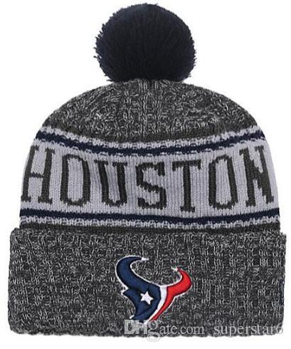 b9e1aaf0 Top Selling Texans Beanie HOU Beanie Sideline Cold Weather Reverse ...