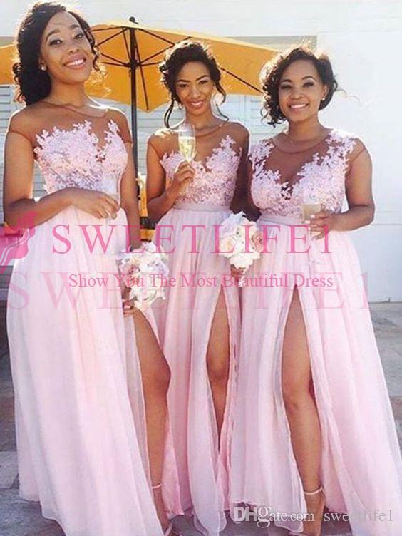 d1c951b978ca5 Cheap Halter Neck Long Bridesmaid Dresses Discount Pale Lavender Wedding  Dress