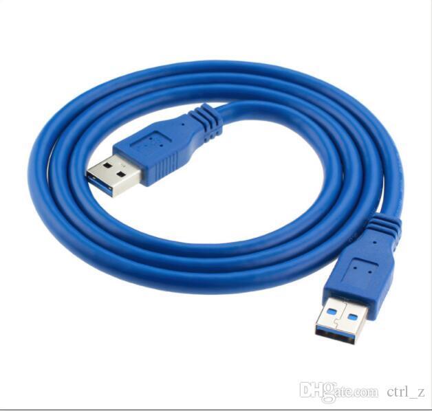 Speed USB 3.0 A Typ männlich zu männlich Riser USB-Verlängerungskabel AM TO AM 0.6m 4.8Gbps Grafikkarte