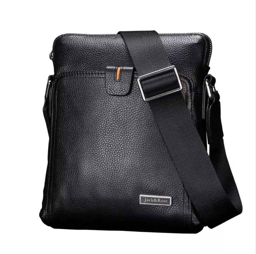 Casual Genuine Leather Men Bags Business Fashion Men Messenger Bag Brand  Designer Men S Shoulder Bag Zipper Ladies Handbags Leather Handbags From  Soindes e4fd3edf6179d