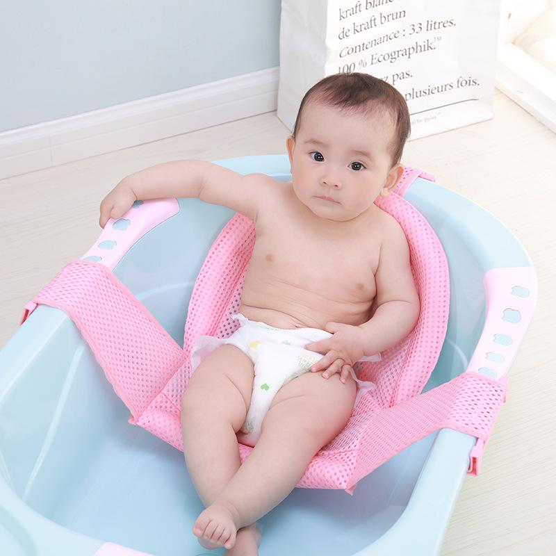 2018 Baby Bath Tub Newborn Baby Foldable Bath Tub Chair Newborn ...