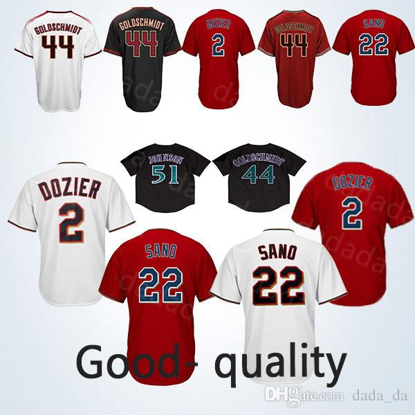 416d3fd3c Compre 2018 2019 Arizona Diamondbacks Jerseys Y Minnesota Twins Jerseys 44  Paul Goldschmidt 2 Brian Dozier 22 Miguel Sano 13 Ahmed A  21.1 Del Dada da  ...