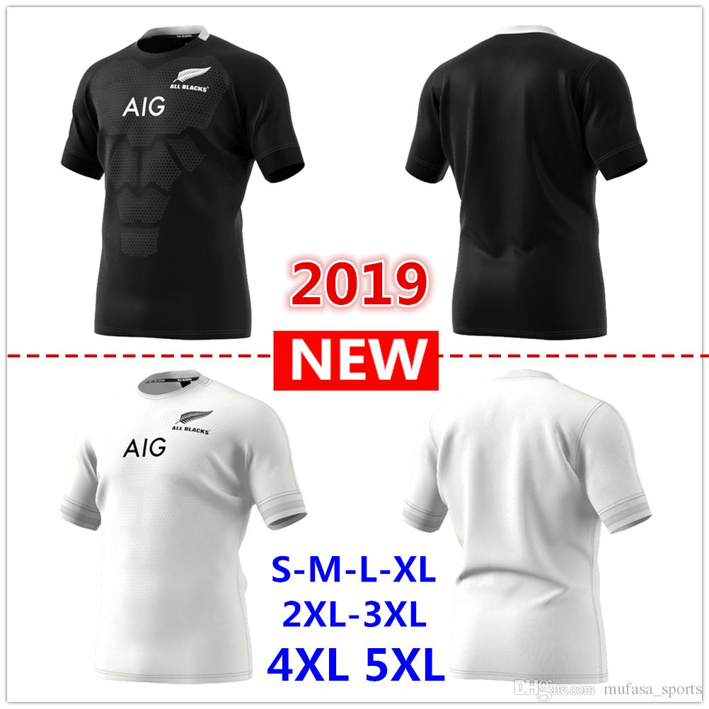 3cf040c91c6 2019 New Zealand All Blacks Home Away Rugby Jerseys Super Rugby ...