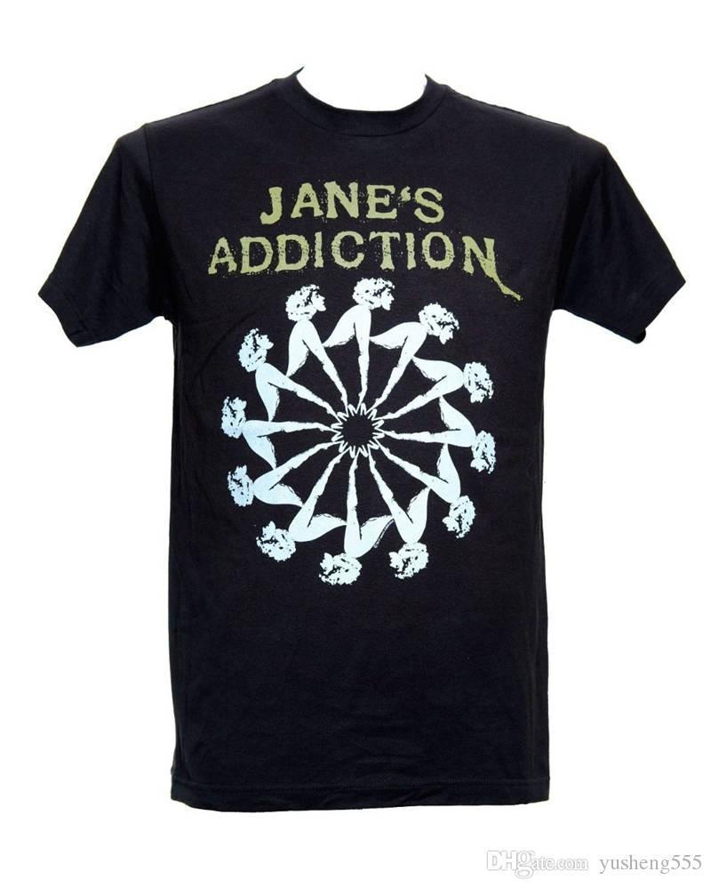 Hot Sale T Shirt Fashion Crew Neck Novelty Jane'S Addiction Short Sleeve Mens Tees