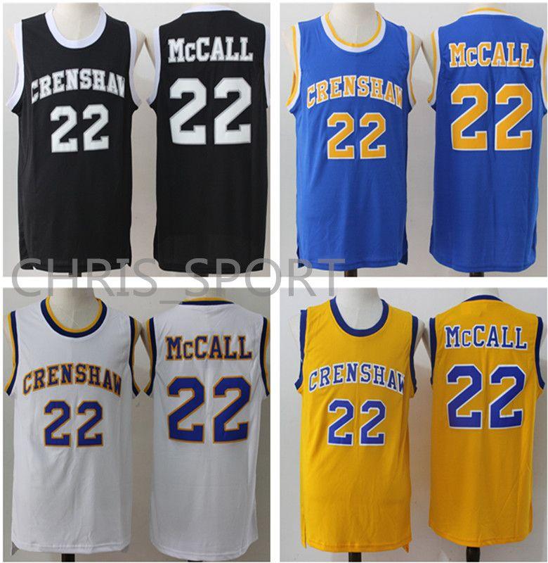 679a10ab0 Crenshaw High School Basketball Jersey  22 Quincy McCall Stitch Player  Jerseys Mitchell   Ness Basketball Jerseys Quincy McCall Online with   32.19 Piece on ...